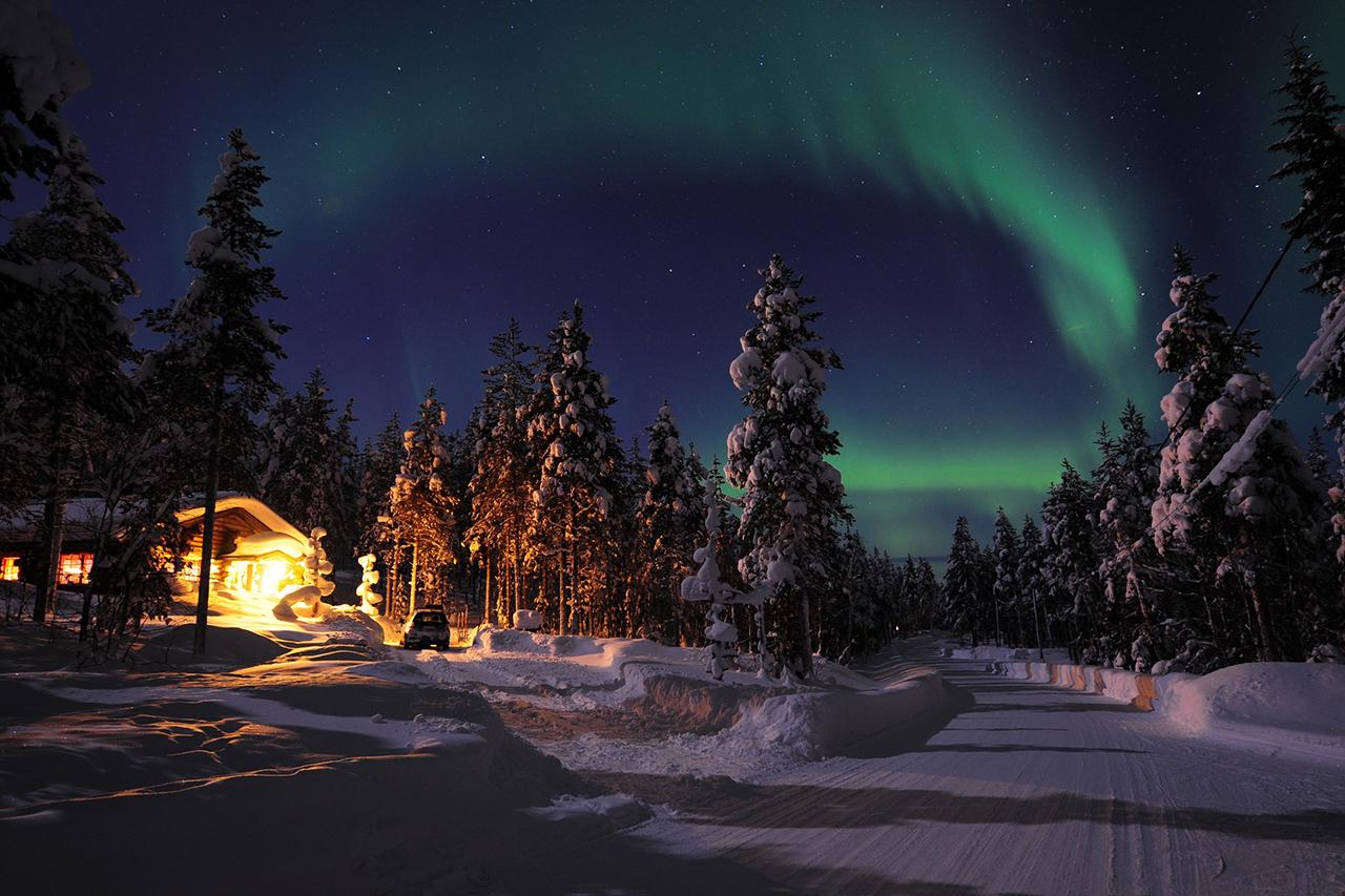 e6bfb4657 La aurora boreal es un fenómeno atmosférico que se puede admirar en los  cielos de Laponia